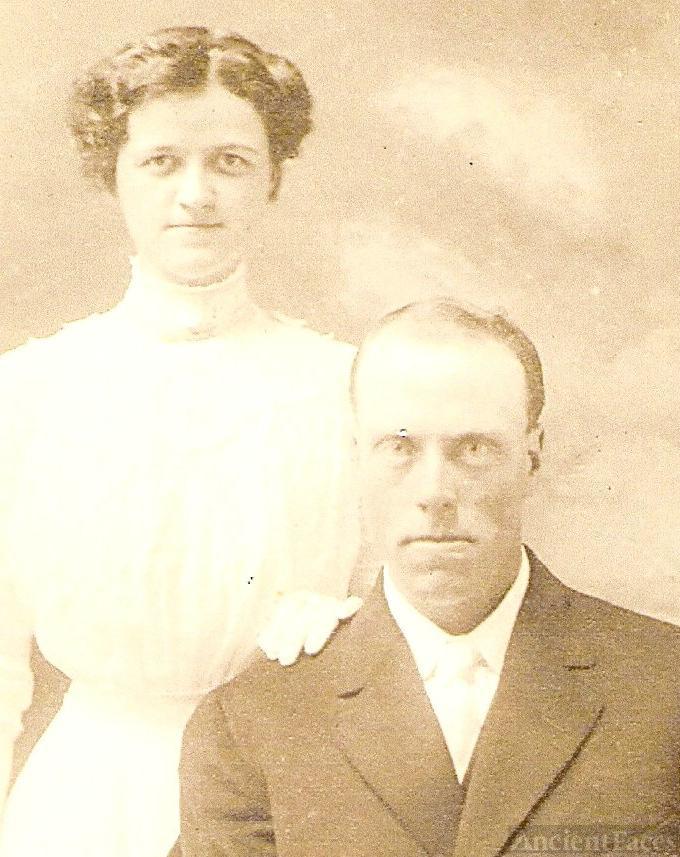 Lyman Ray Surber & Maude Kennedy Wedding