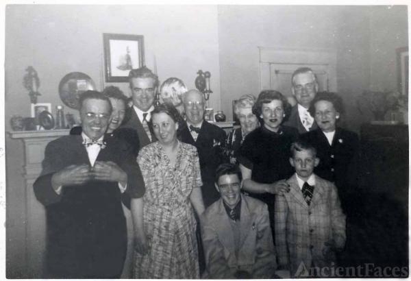 Asa Johnson Family, Virginia 1949