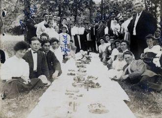 Ellis Family Picnic circa 1910