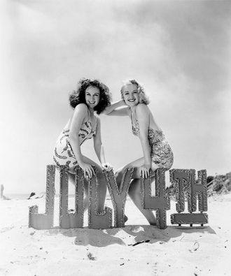Susan Hayward & Virginia Dale