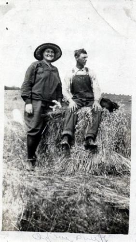 Guy Wells and wife