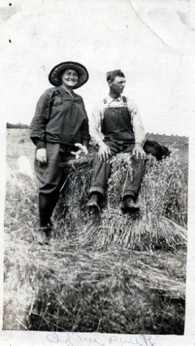 Guy Wells and wife