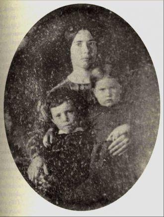 Roxana (Gaylord), Arthur, & Emily Hill, 1846