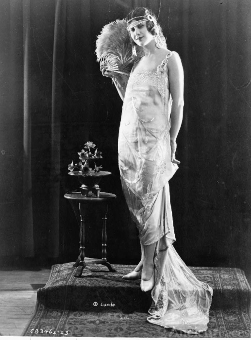 1921 Evening Gown by Lucile