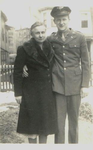 Dorothy & Frank Heidke, 1944 Massachusetts