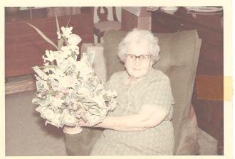A photo of Hattie Bell (Mercer) McManaway