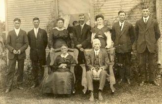 Samuel Lyman Ball 50th wedding anniversary 1917