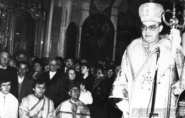 Greek Catholic Bishop - Szilard Keresztes