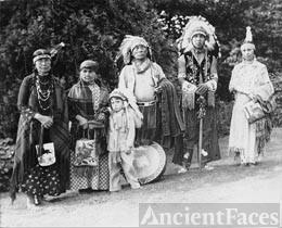 Ruth Sehome Shelton family