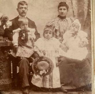 Anna Susanna Fajk Family