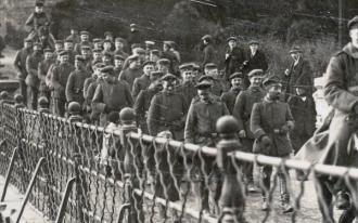 German troops leaving Luxembourg