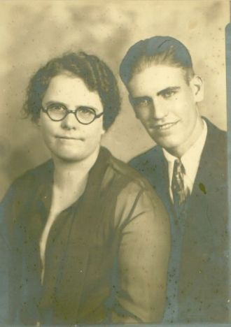 Frank and mother May M. Shea