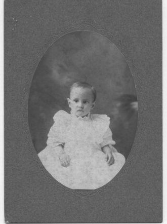 Baby Elvin Floyd Graves