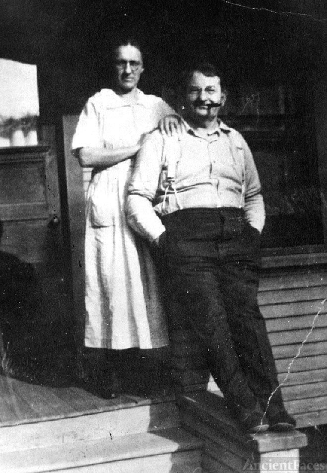 Louis Osborn Tinkham & Martha Caroline Schrader