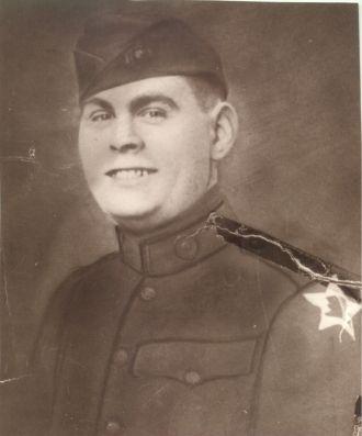 Pvt. Eddie Lanagan, USMC, 1919
