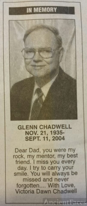 Glenn Chadwell Memorium