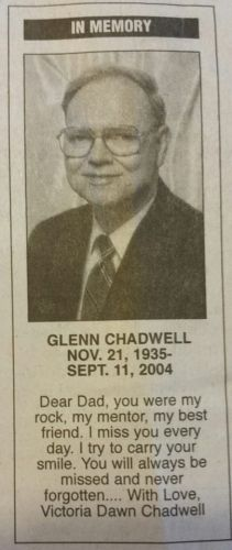 A photo of Glenn Chadwell