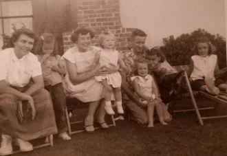 Catherine Elizabeth Braunger family