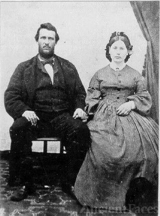 Hiram Comstock & Mary M. Woods