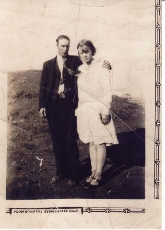 George & Mattie (Sloan) Flowers, 1929