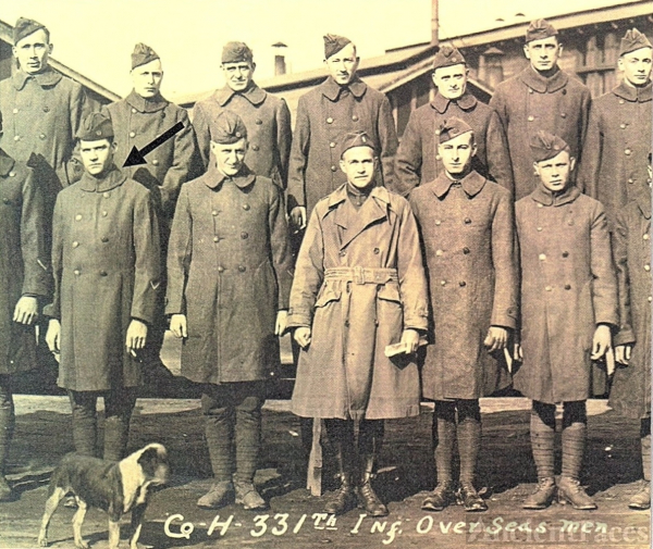 Ray Cortland/Cyrus Young, WWI
