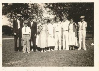 Walker family & friends,1934