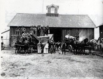 Henry Johnson Farm, August 1896