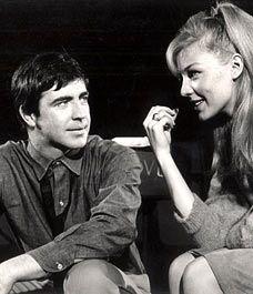 Alan Arthur Bates with Joanna Pettet.