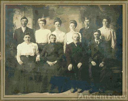 John Carl & Elisabeth(Wille) Meier Family
