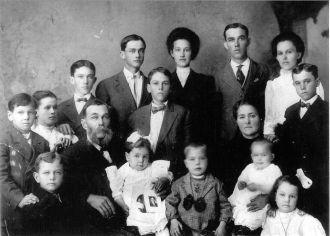 Erasmus Augustus Ennis Family, Georgia
