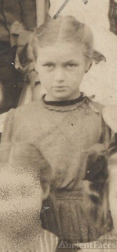 Katherine Hunter, school girl