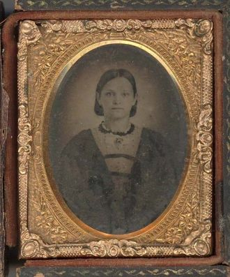 Civil War era young woman