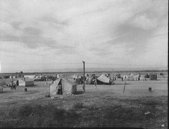 California Camp, Dust Bowl