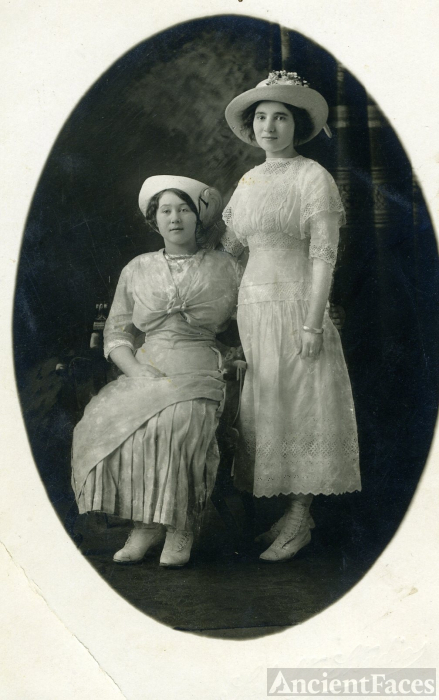 Rose Rader and Linnie Kenney