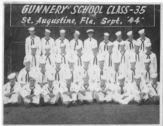 Rudolph Noeldechen, Gunnery School