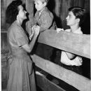 Tommy Rettig, Jan Clayton, and Jon Provost