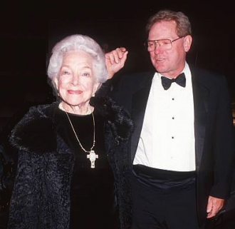 James MacArthur and Helen Hayes.