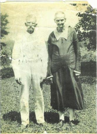 John and  Sarah Burress
