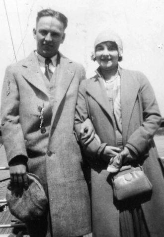 Tom & Ida Dean, Canada 1929