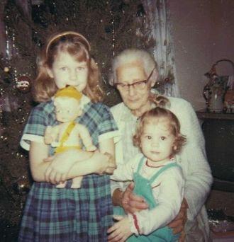 Margaret (Baker) Walker and family
