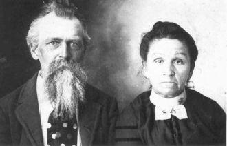 James B Hudson & wife