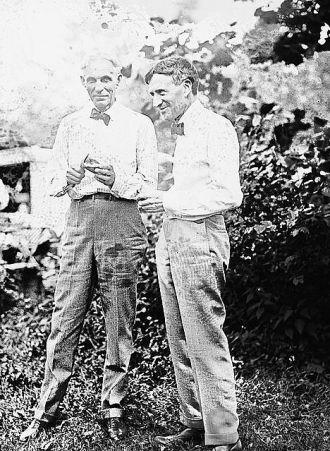 Henry Ford & Harvey Firestone