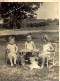 Richard, James and Norma Van Est
