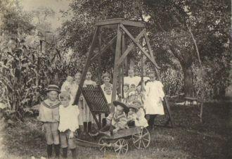Teresa Sabina Buzzard Family 1895 PA