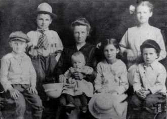John Laurent & his family