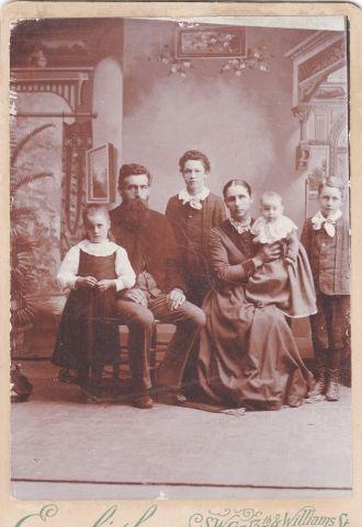 Ane Kathrine Marie Hansen family