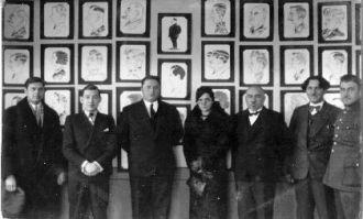 Caricatures of Mayors of Birzai