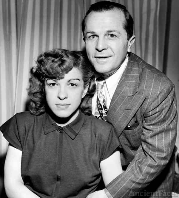 Nancy Walker and Dewey Barto