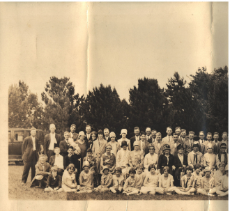Stavanger Boarding School First Homecoming Picnic June 16, 1928 Image 6 (Last)