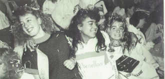 1990 West Deptford High School Pep Rally